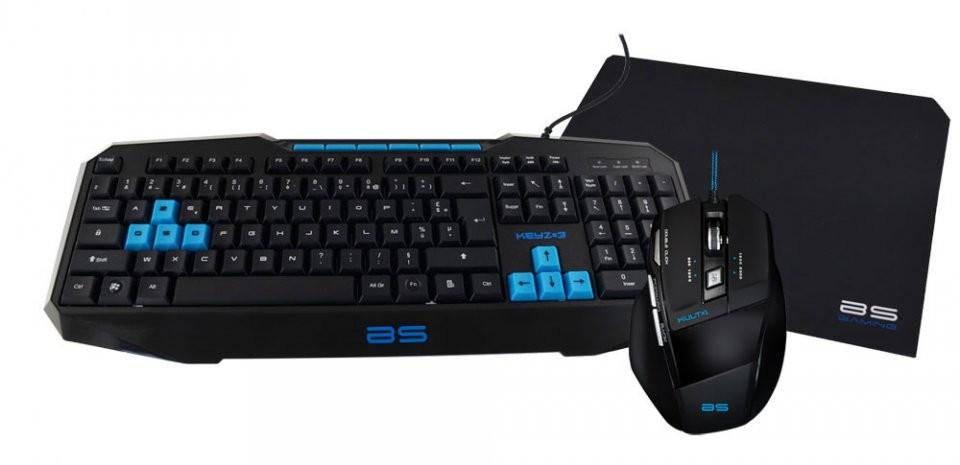 pack clavier et souris gamer bluestork avec keyz 3 et kult 1. Black Bedroom Furniture Sets. Home Design Ideas