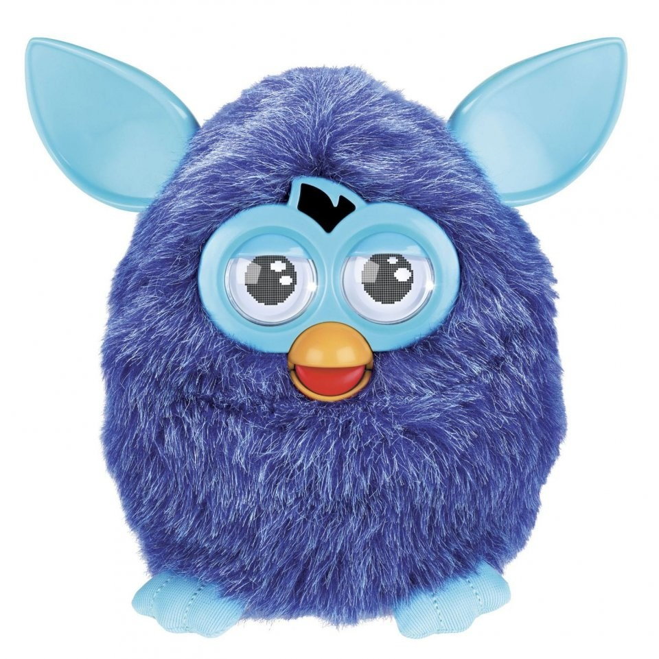 article KT peluche animee furby electronique violet