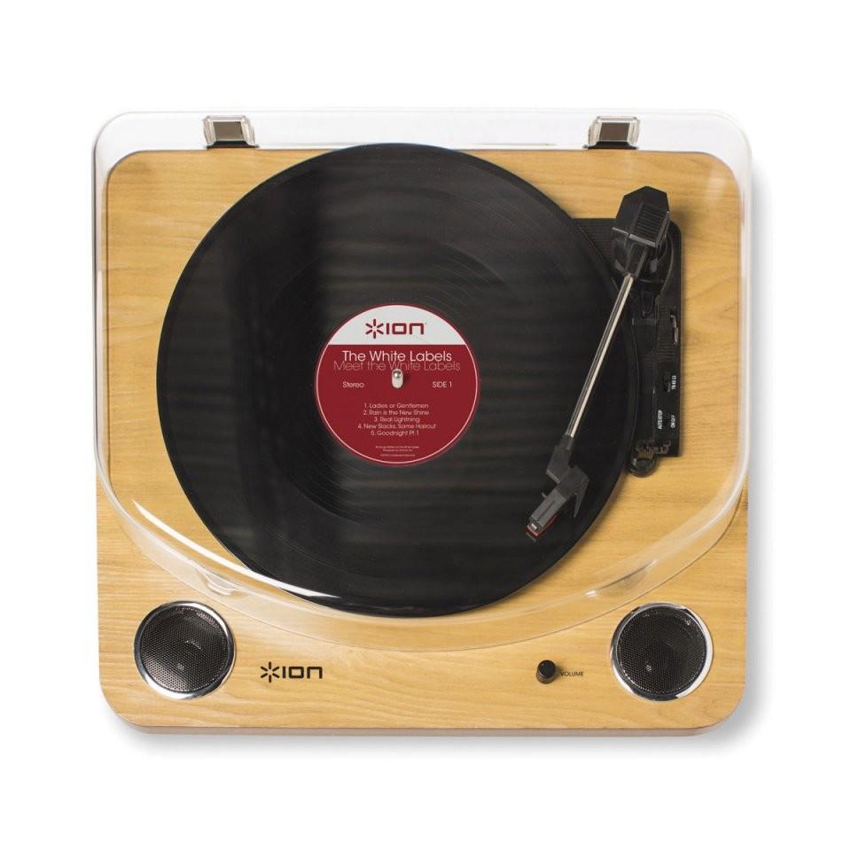 platine vinyle avec haut parleurs et convertisseur ion. Black Bedroom Furniture Sets. Home Design Ideas
