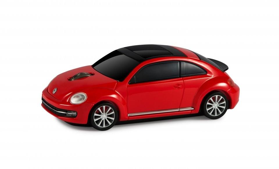 souris sans fil voiture new beetle rouge 1750 dpi landmice. Black Bedroom Furniture Sets. Home Design Ideas