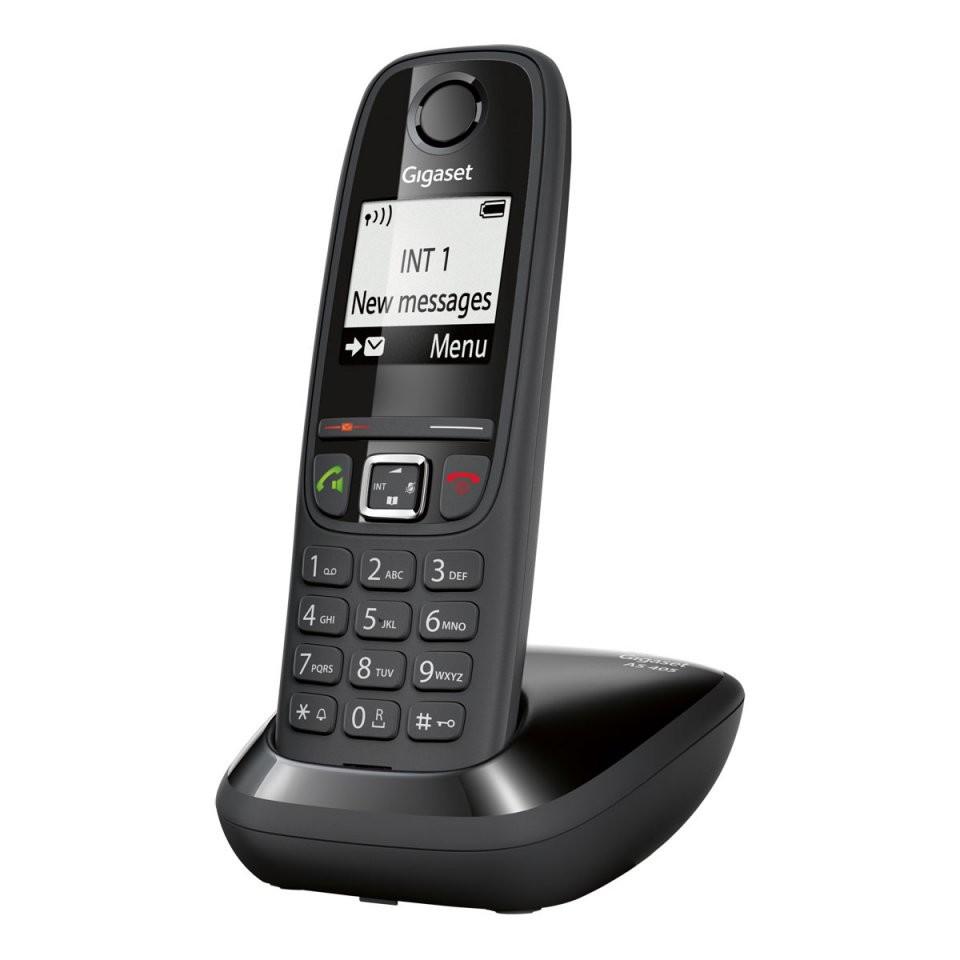 t l phone fixe sans fil avec r duction d 39 ondes gigaset as405. Black Bedroom Furniture Sets. Home Design Ideas