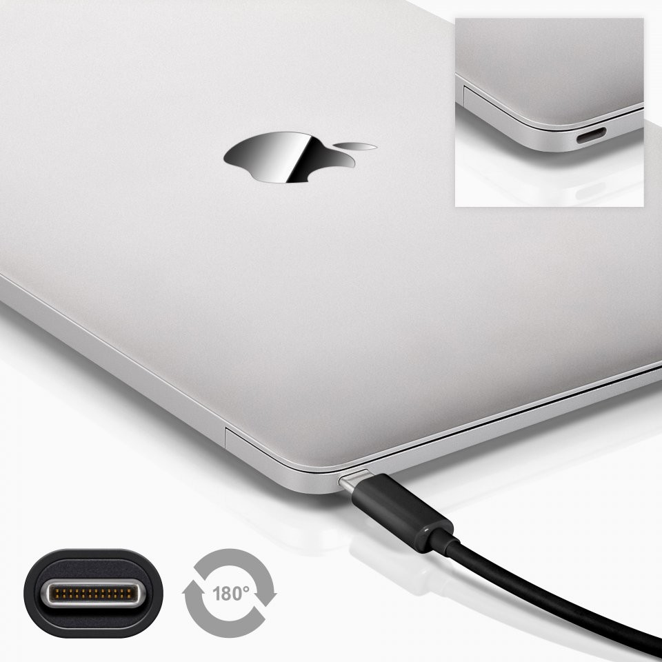c ble usb c vers micro usb et usb pour macbook air retina. Black Bedroom Furniture Sets. Home Design Ideas