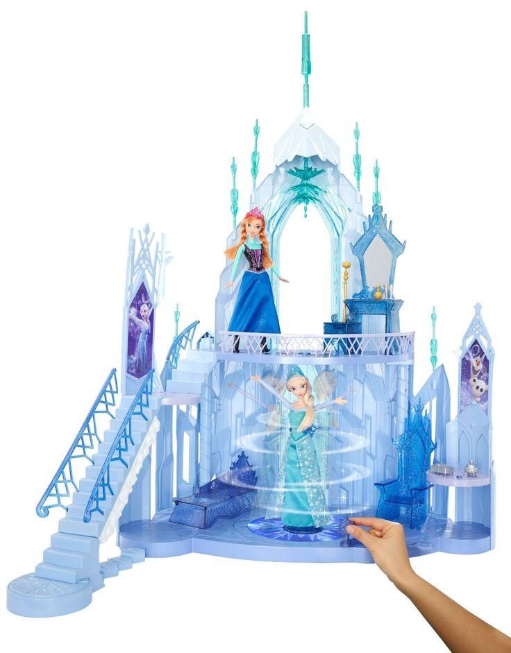 Palais des glaces de la reine des neiges jouet disney - Palais de glace reine des neiges ...