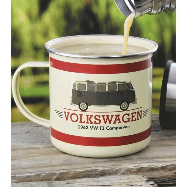 Mug En M 233 Tal Pour Camping Motif Volkswagen Combi T1