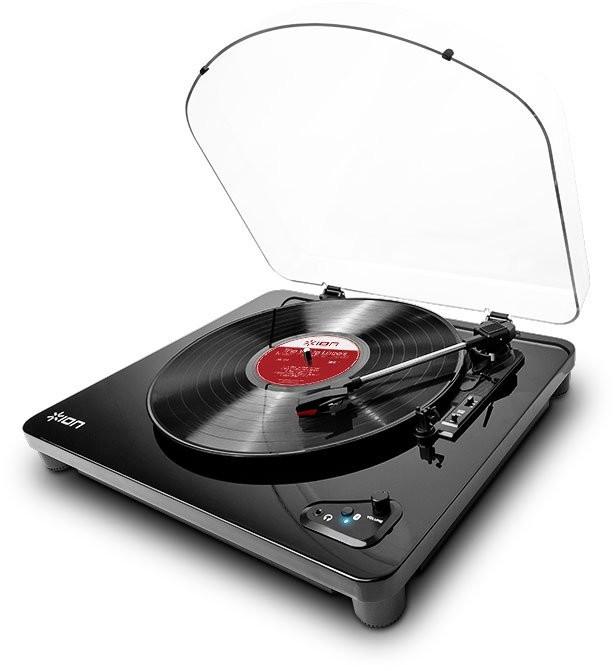 platine vinyle avec metteur bluetooth sans fil ion air lp. Black Bedroom Furniture Sets. Home Design Ideas