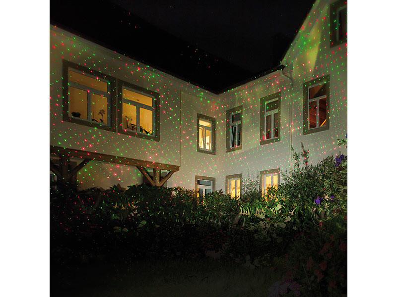 Projecteur premium laser rouge vert pour fa ade effet pluie d 39 toiles for Laser facade noel