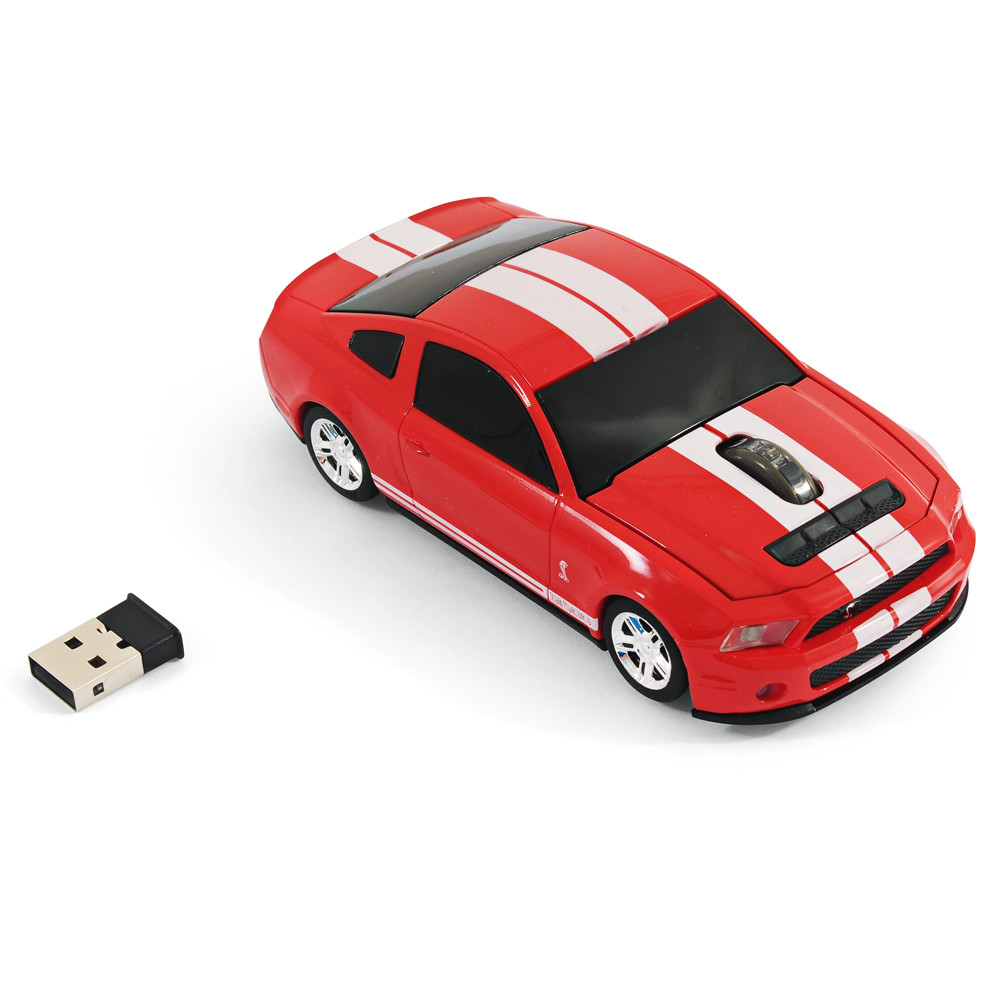 souris voiture sans fil ford mustang gt rouge landmice souris supercar. Black Bedroom Furniture Sets. Home Design Ideas
