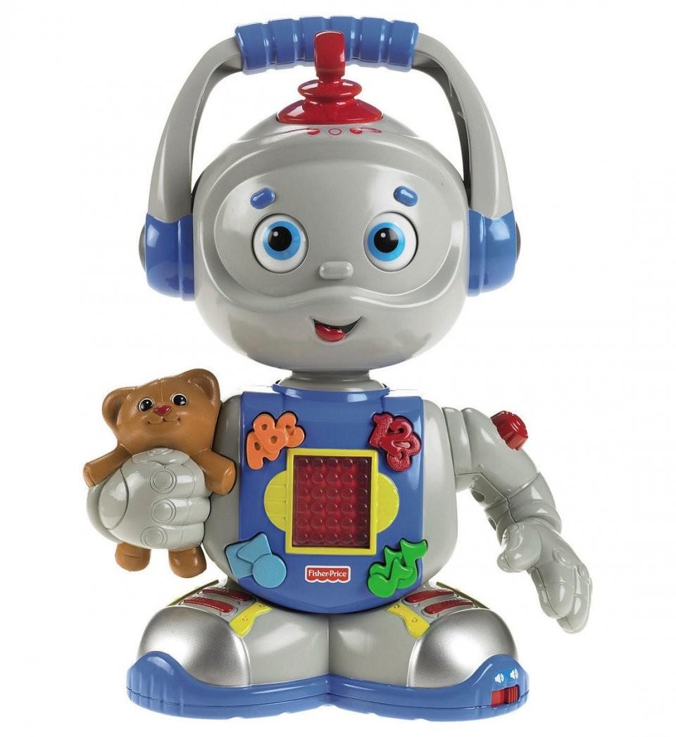 toby le robot fisher price jouet d 39 veil fran ais et anglais. Black Bedroom Furniture Sets. Home Design Ideas