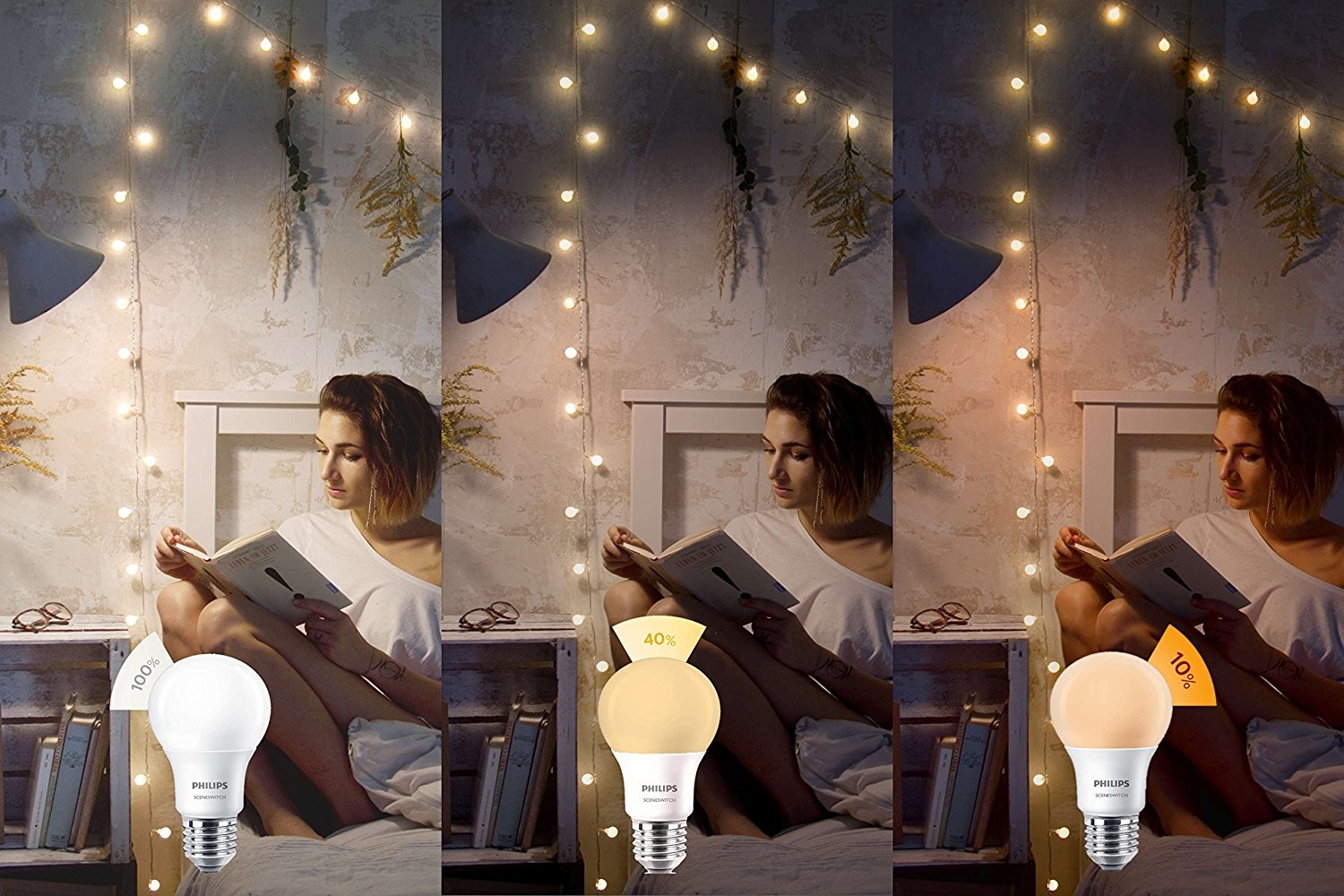 3 Ambiances Led Sceneswitch Philips Ampoule 8w mOP80nyvwN