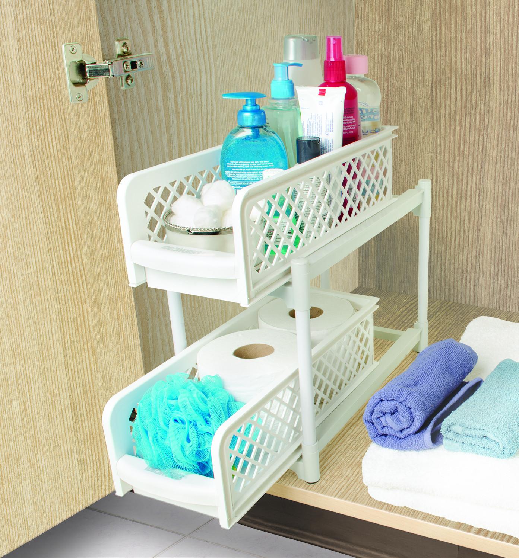 Paniers de rangement pour ustensiles de cuisine et salle - Ustensiles salle de bain ...