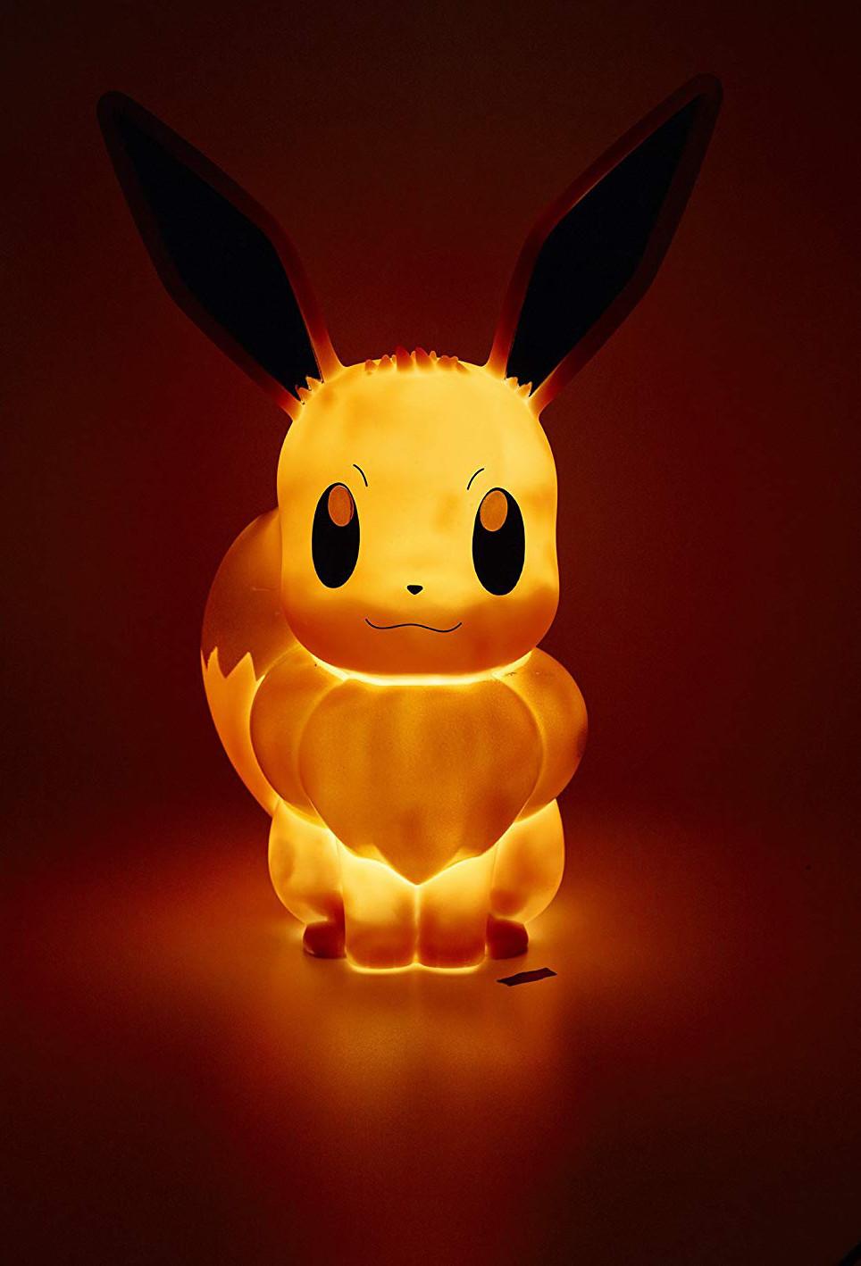 Lampe Pokémon Dowercbqxe Sans Fil Led Évoli v8ymnwON0P