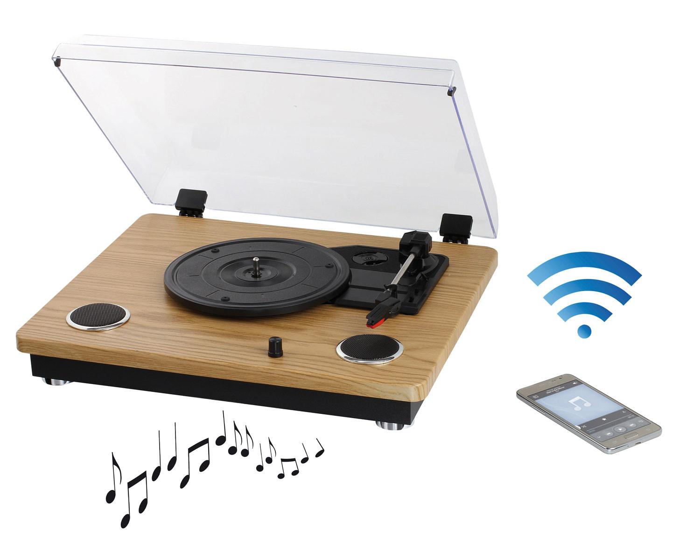 Clipsonic Platine Tes191 Vinyle Récepteur Avec Bluetooth Nwyv8nOPm0