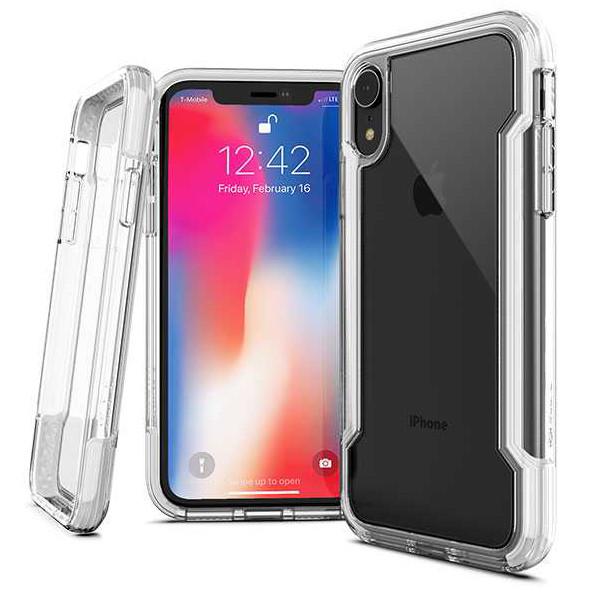 Coque renforcée pour iPhone XR : Defense Clear - Transparent