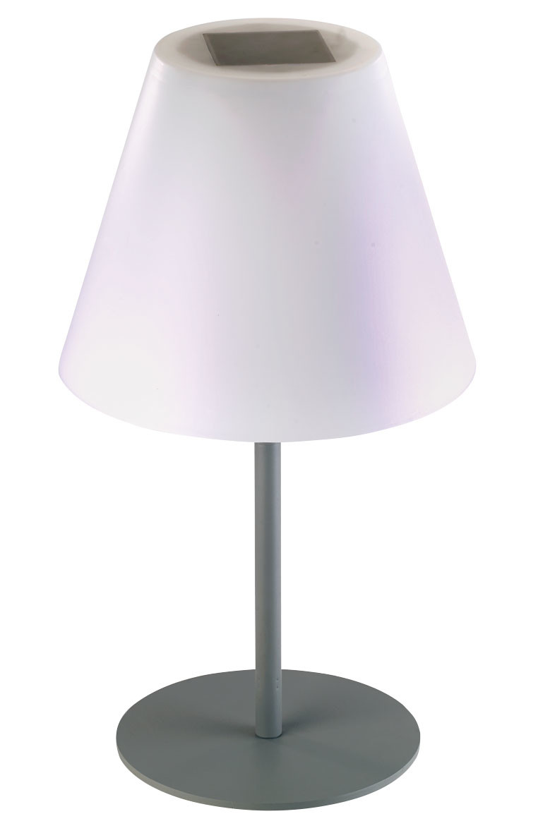 lampe led solaire avec pied 30 cm 1 50 m. Black Bedroom Furniture Sets. Home Design Ideas