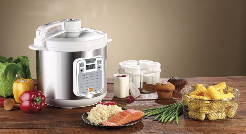 Autocuiseur multifonction pour riz, vapeur et friture | Pearl.fr