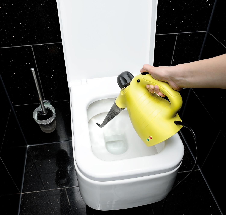 Nettoyeur vapeur avec balai pour nettoyage vitres carrelage joints - Nettoyeur vapeur pour carrelage ...