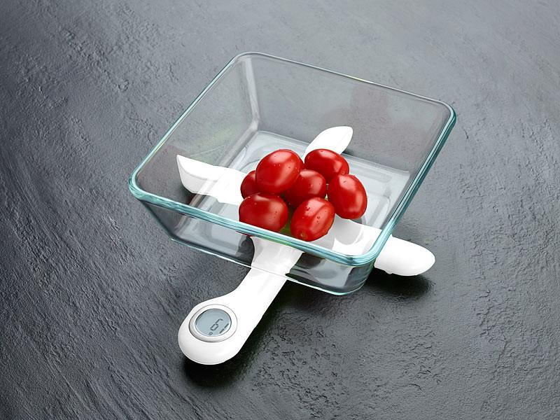 Achat balance de cuisine compacte pliable - pearl.fr | Pearl.fr
