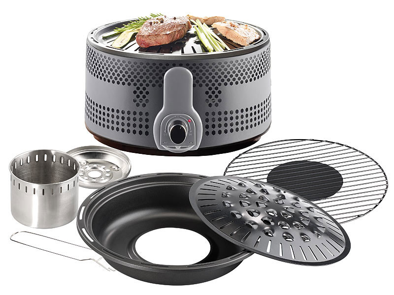 mini barbecue nomade de camping charbon avec double grilles. Black Bedroom Furniture Sets. Home Design Ideas