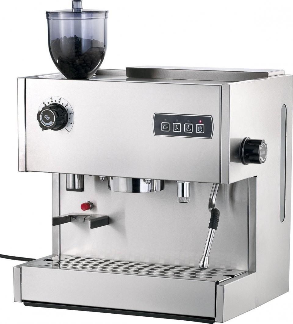 Machine expresso avec moulin caf int gr 39 es - Machine a cafe avec broyeur integre ...