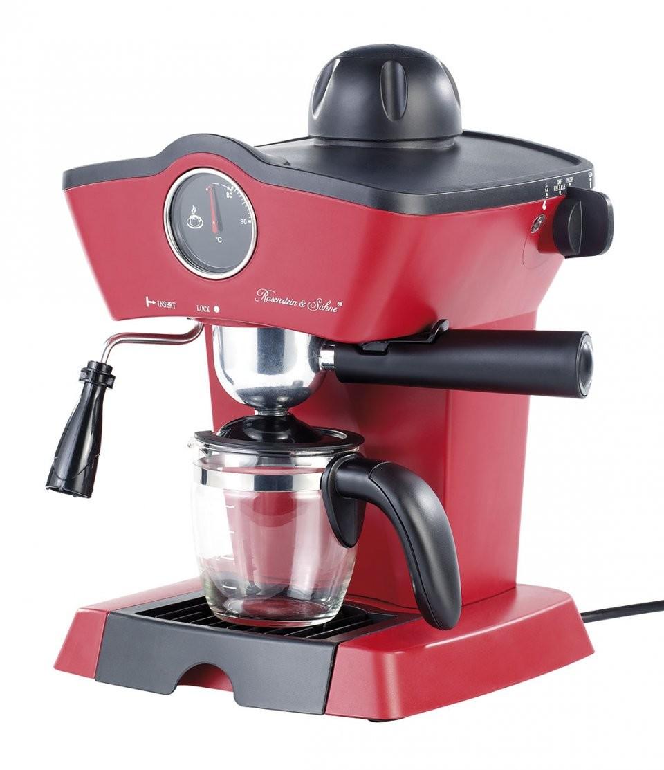machine caf design r tro avec mousseur lait es 800. Black Bedroom Furniture Sets. Home Design Ideas
