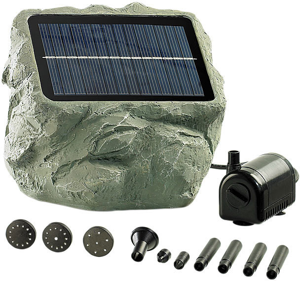 pompe bassin solaire perfect w pompe dutang de jardin filtre bote solaire bassin cours dueau. Black Bedroom Furniture Sets. Home Design Ideas