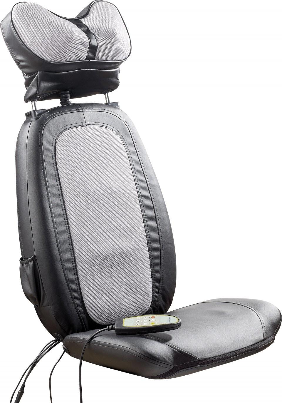si ge chauffant de massage nuque et dos pour chaises. Black Bedroom Furniture Sets. Home Design Ideas