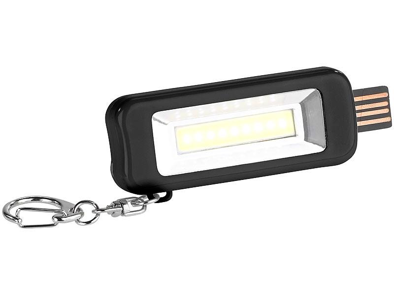 Lampe De Poche Ultra Plate Led Cob Avec Mousqueton Porte Cles Pearl Fr