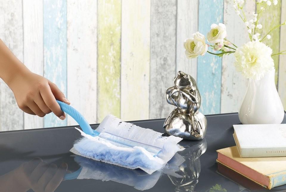 plumeau anti poussi re avec chiffons en microfibre antistatique. Black Bedroom Furniture Sets. Home Design Ideas