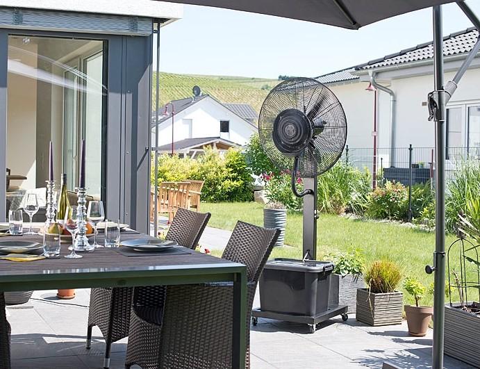 acheter ventilateur brumisateur d 39 ext rieur professionnel. Black Bedroom Furniture Sets. Home Design Ideas