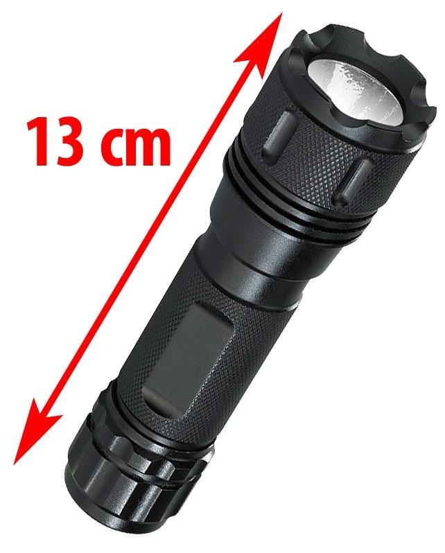 3 piles LR3 avec fonction SOS Torche robuste 3 WATT !! Lampe de poche