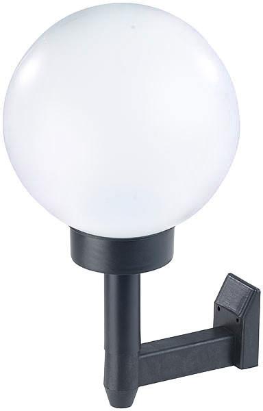 acheter lampe ronde solaire led 20 cm. Black Bedroom Furniture Sets. Home Design Ideas