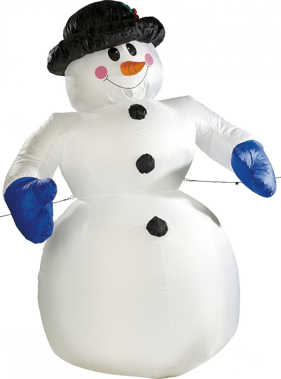 Decoration de noel bonhomme de neige - Bonhomme de neige decoration exterieure ...