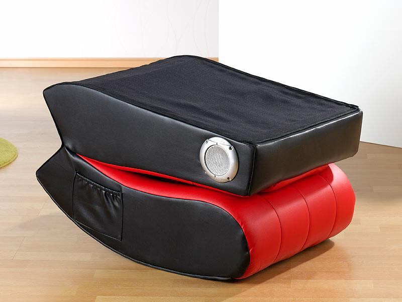 fauteuil avec haut parleur table de lit