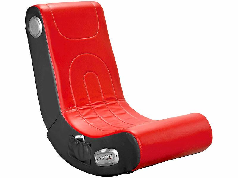 fauteuil gaming avec hauts parleurs et caisson de basses pearl fr