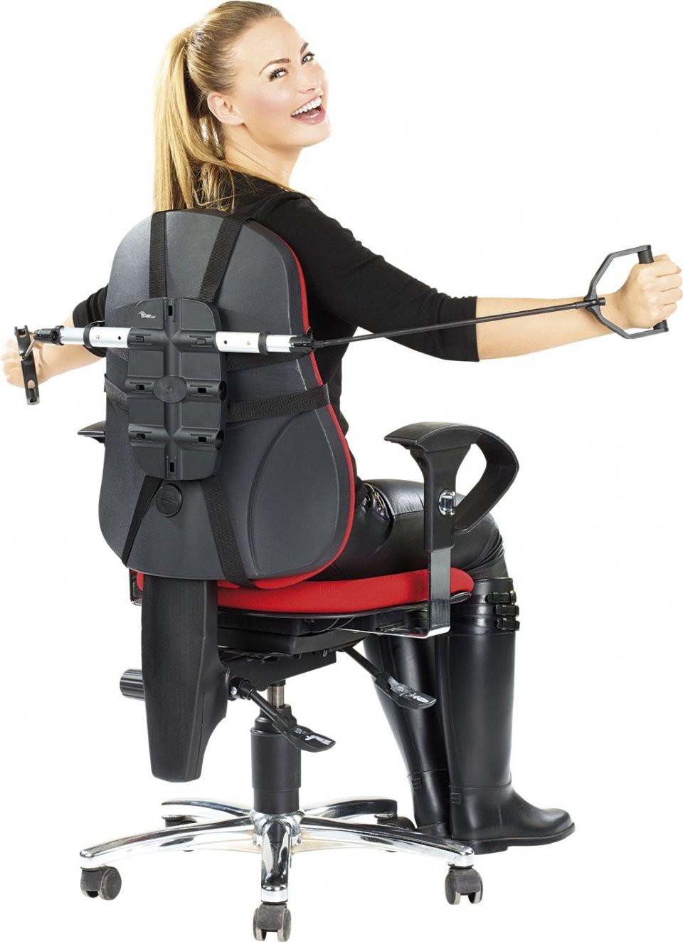 appareil de fitness et musculation avec tendeurs pour bureau. Black Bedroom Furniture Sets. Home Design Ideas
