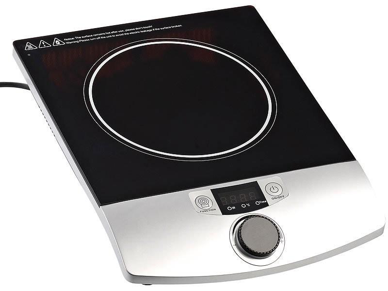 plaque de cuisson induction 2000w avec s curit automatique. Black Bedroom Furniture Sets. Home Design Ideas