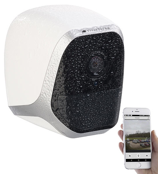 cam ra de surveillance wifi ip avec fixation sans percer. Black Bedroom Furniture Sets. Home Design Ideas