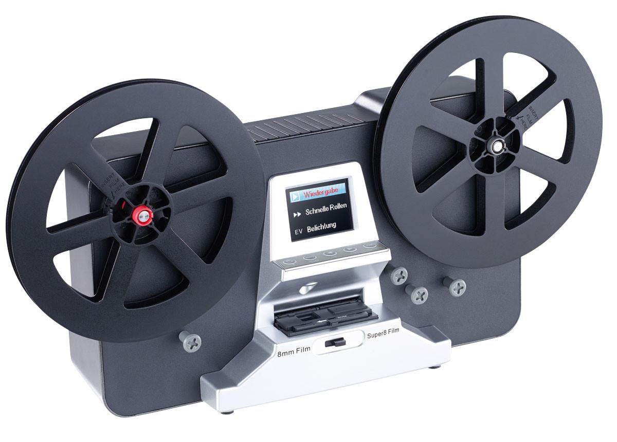 scanner usb hd cran lcd pour films 8 mm et super 8. Black Bedroom Furniture Sets. Home Design Ideas