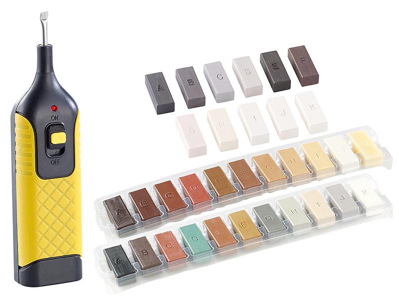 Kit de r paration pour carrelage parquet et linol um 33 couleurs - Kit reparation carrelage ...
