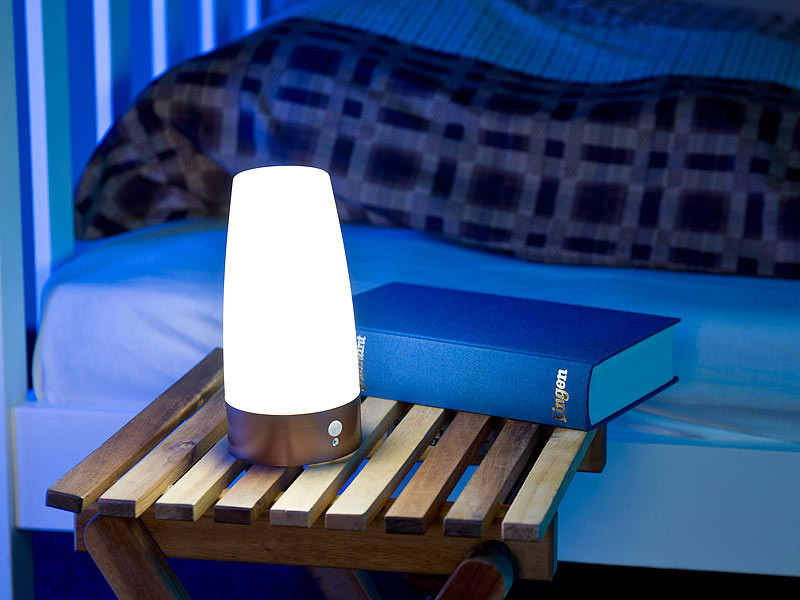 lampe de chevet led design avec d tecteur de mouvement. Black Bedroom Furniture Sets. Home Design Ideas