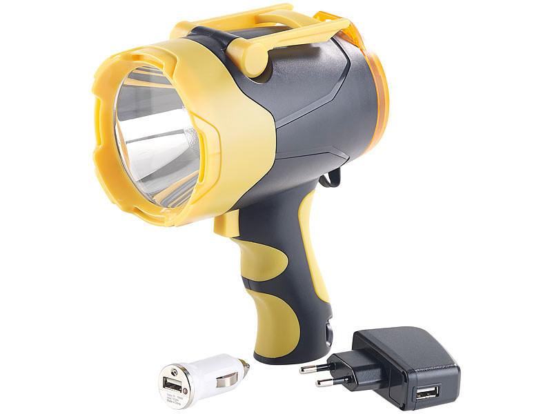 Lampe de poche avec batterie