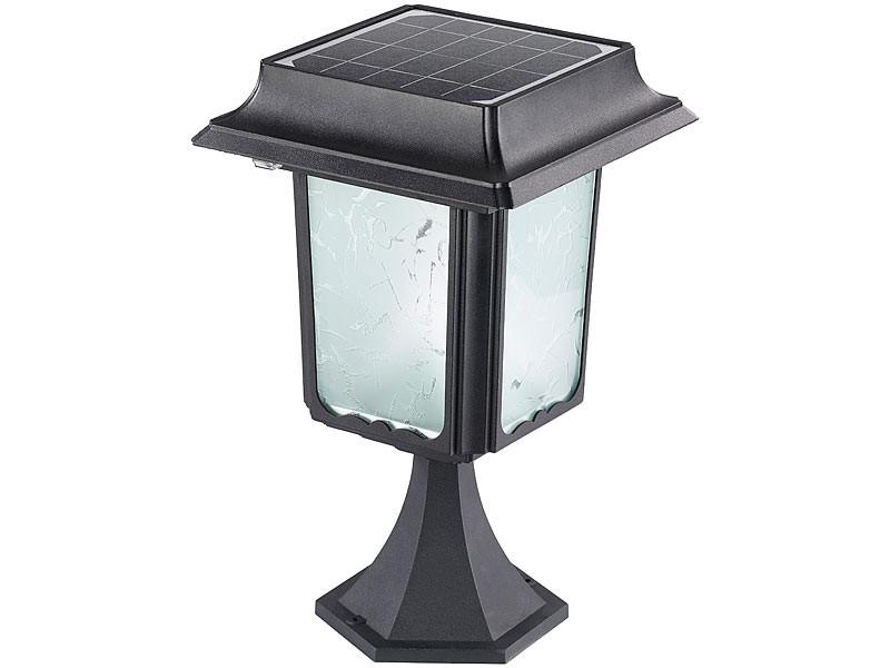 Lanterne de jardin solaire en inox avec ou sans pied swl for Lanterne exterieur sur pied