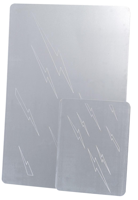 plaque de nettoyage par electrolyte pour argenterie et. Black Bedroom Furniture Sets. Home Design Ideas