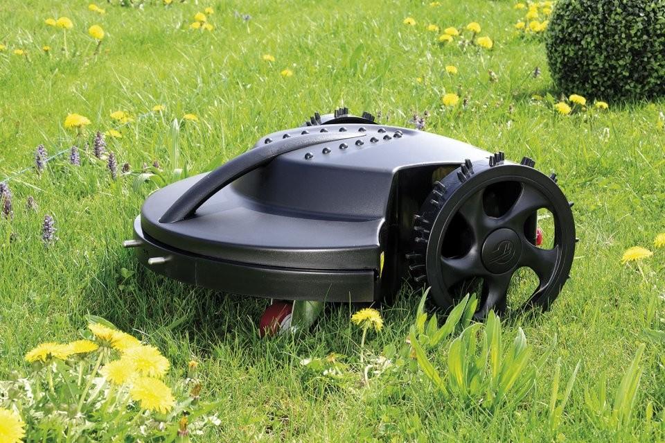 robot tondeuse gazon automatique avec base de charge. Black Bedroom Furniture Sets. Home Design Ideas