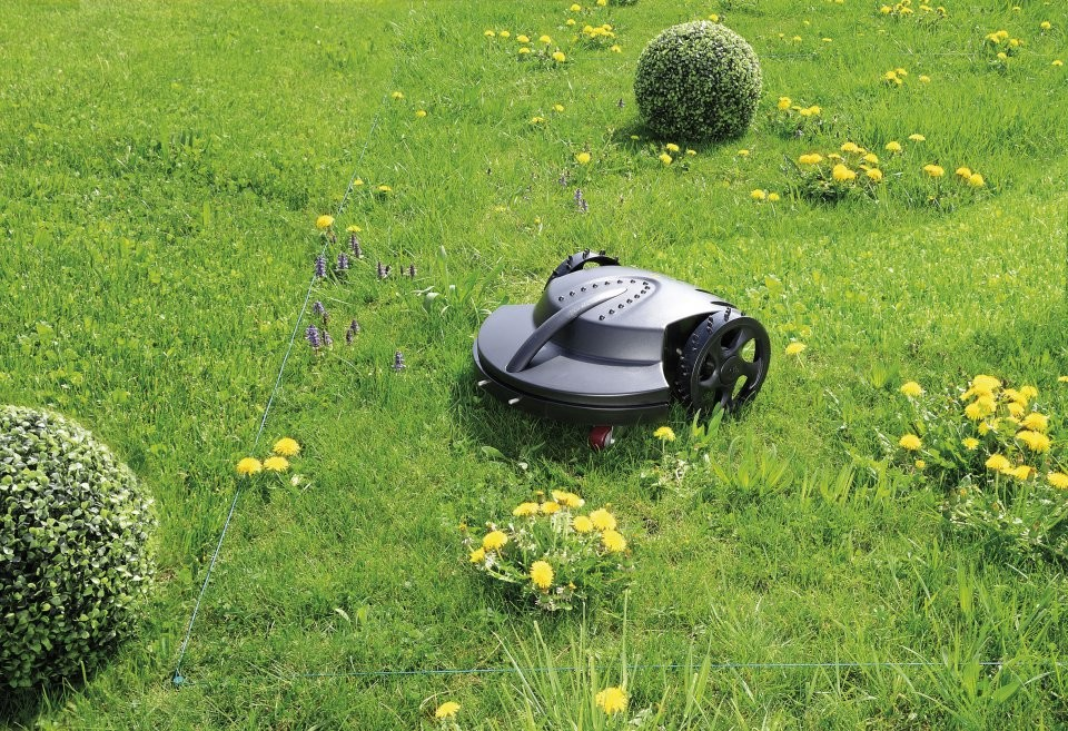 Robot tondeuse gazon automatique avec base de charge - Tondeuse a gazon automatique ...