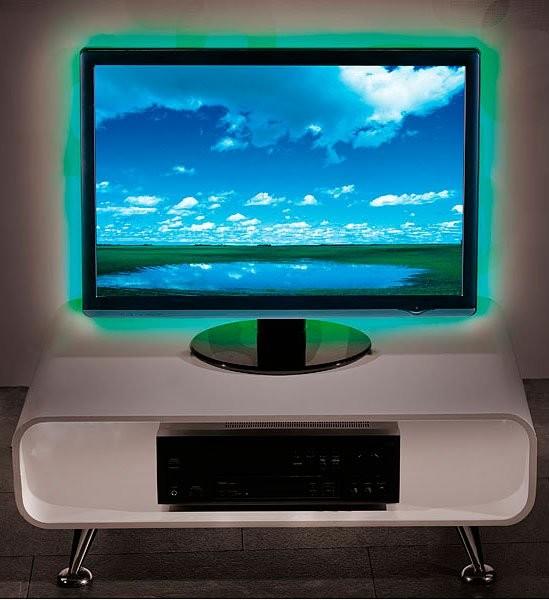 kit de r tro clairage 48 led rvb pour tv jusqu 39 70 39 39 pas cher. Black Bedroom Furniture Sets. Home Design Ideas