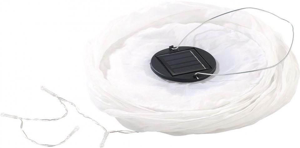 lampion solaire avec guirlande led couleur blanc. Black Bedroom Furniture Sets. Home Design Ideas