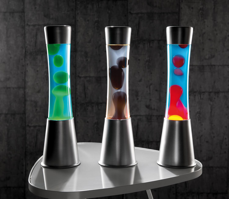 lampe lava en aluminium et verre d co r tro ann es 80. Black Bedroom Furniture Sets. Home Design Ideas