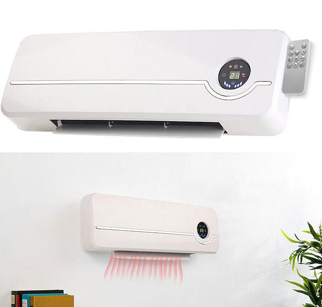 Radiateur Electrique Mural 2000w Avec Thermostat Et Element En Ceramique Pearl Fr