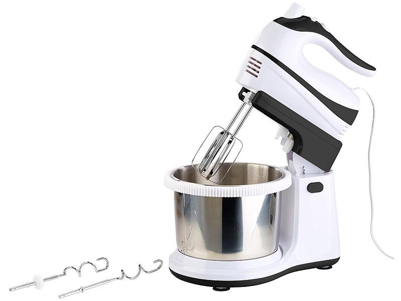 Batteur de cuisine lectrique avec bol rotatif et - Batteur electrique avec bol ...